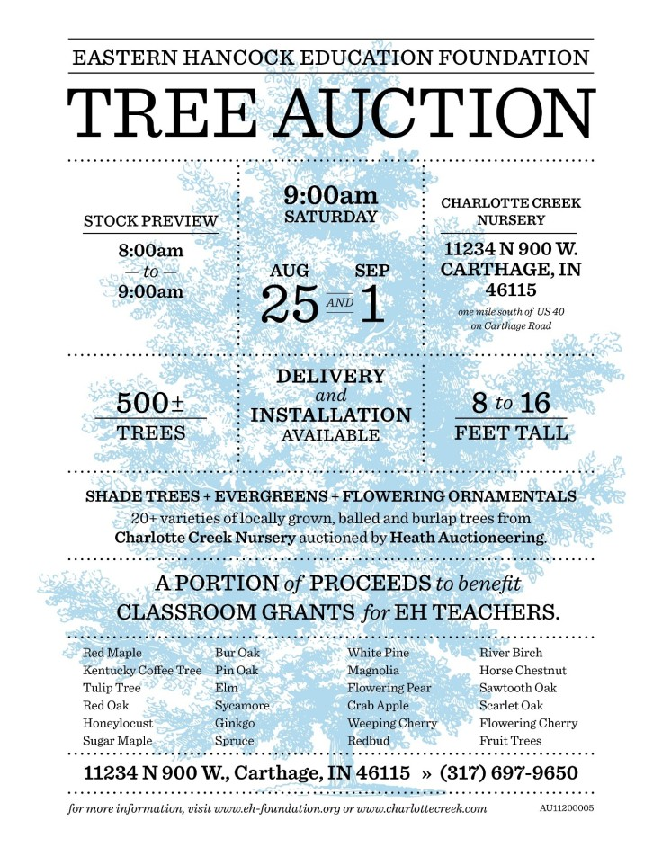 Tree Auction Image 2018